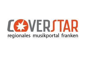 Logo Entwurf für Musikportal Coverstar Region Franken