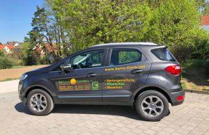 Fahrzeugbeschriftung Flora Ebermannstadt