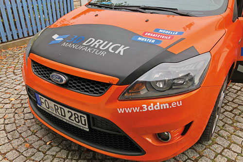 Carwrapping Folie 3D Manufaktur Ebermannstadt