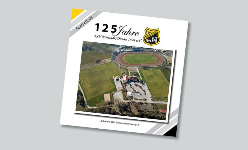 Festschrift Gestaltung und Druck Werbeagentur 2S-ART Forchheim