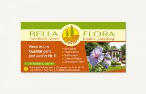 Schild Alu Dipond Bella Flora Ebermannstadt
