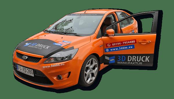 Fahrzeugbeschriftung, Autobeschriftung, Werbeagentur Forchheim - 2S-ART Grafik-Web-Design