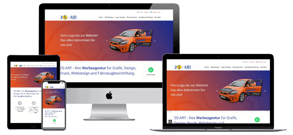 Webdesign Forchheim, Werbeagentur 2S-ART Grafik-Web-Design
