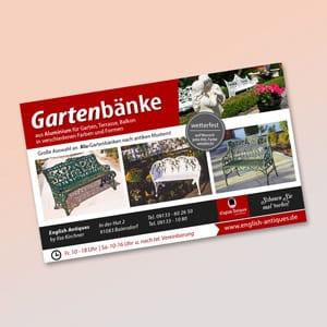 Anzeigengestaltung Werbeagentur Forchheim 2S-ART