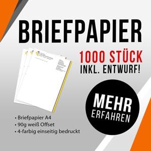 Angebot Briefpapier Werbeagentur Forchheim 2S-ART