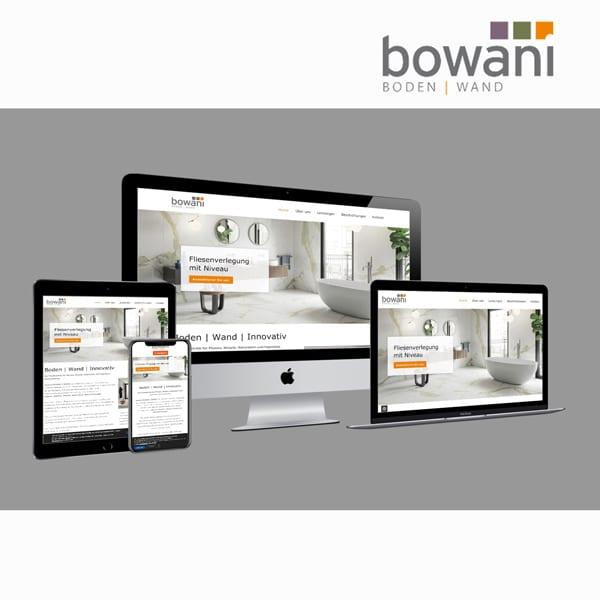bowani Website Webdesign Forchheim, Adelsdorf