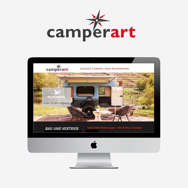 Webdesign mit WordPress Camperart aus Forchheim Weilersbach